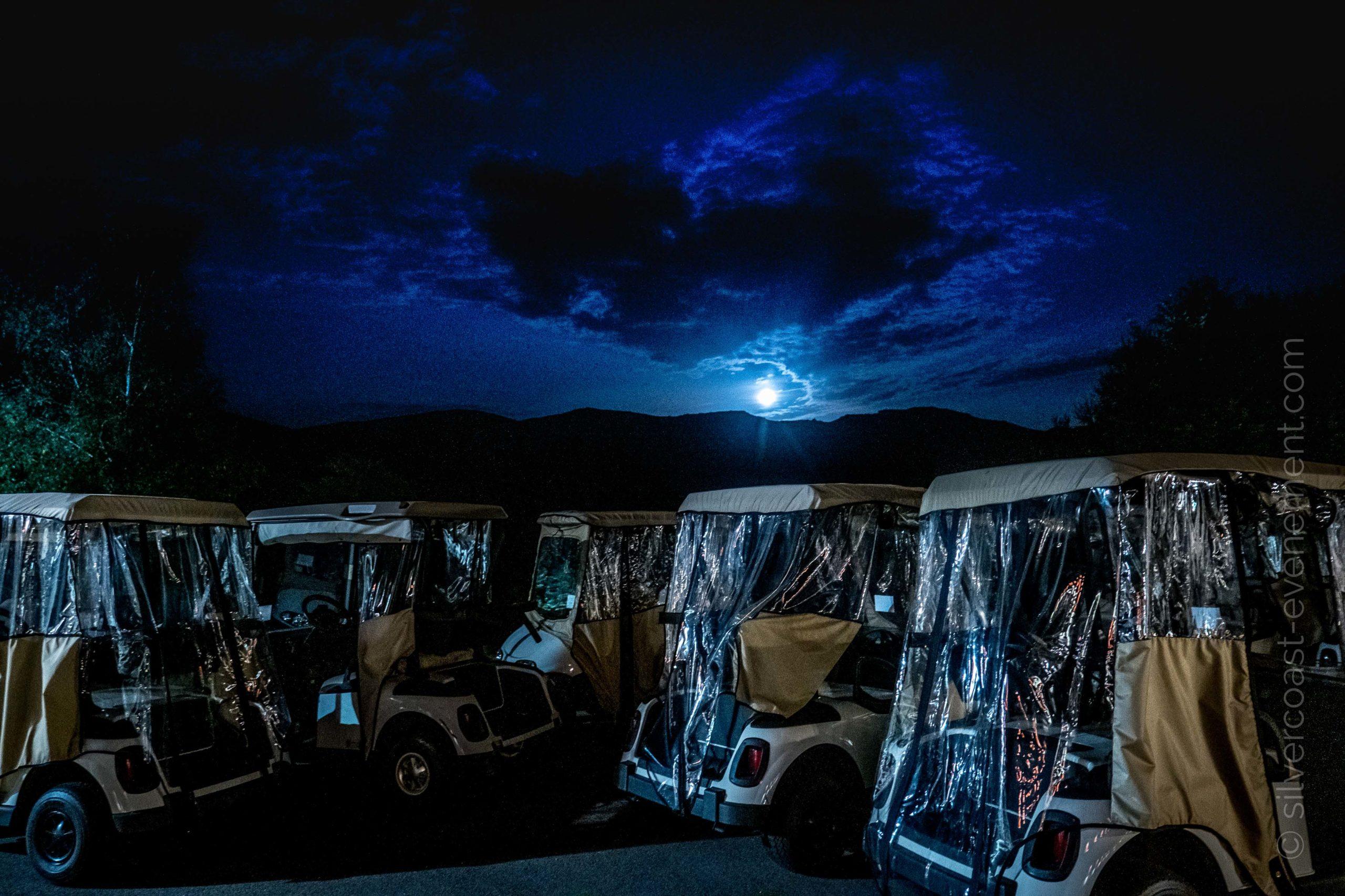 voiturette nuit